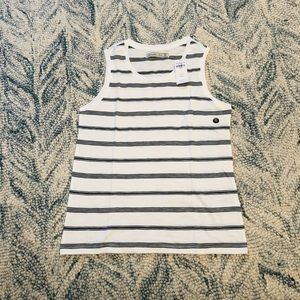Brand New Abercrombie & Fitch striped tank top
